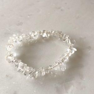 | nwot | Clear Stone Bracelet
